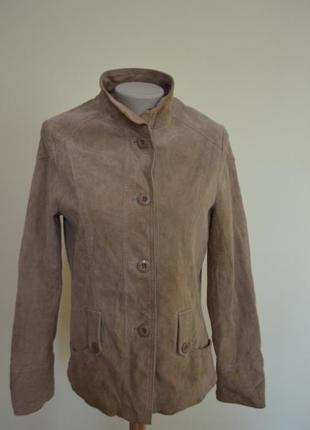 Курточка натуральная замша фирменная new look