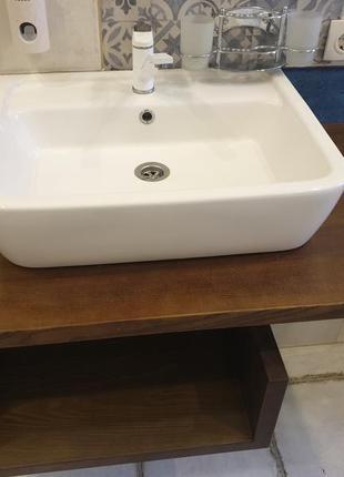 Тумба в ванную с раковиной ам-рм