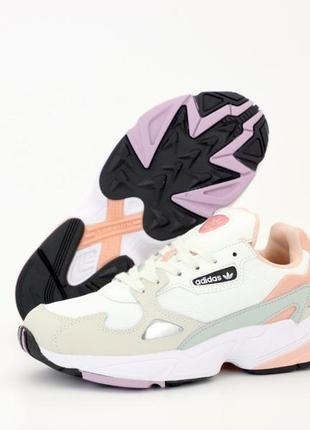 Adidas falcon  кроссовки женские