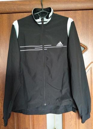 Спортивная ветровка без капюшона, куртка adidas