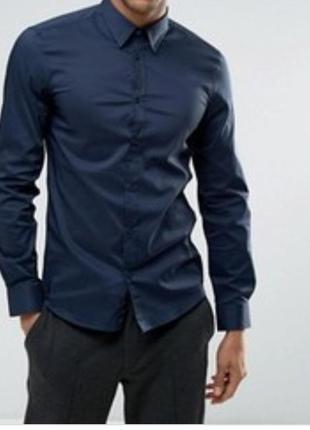 Рубашка мужская котоновая