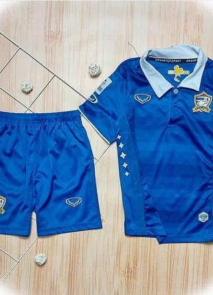 Костюм для мальчика, футбольный костюм, для футбола, шорты, футболка