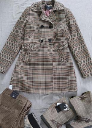 Пальто тренч h&m