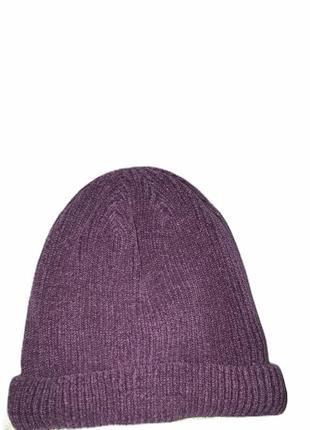 Актуальная тёплая шапка zara