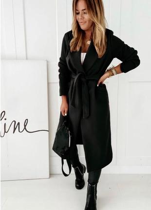 Женское пальто на подкладке3 фото