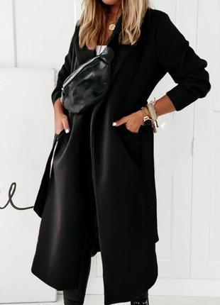 Женское пальто на подкладке2 фото