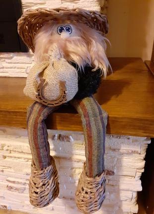 Домовой,интерьерная кукла оберег для дома