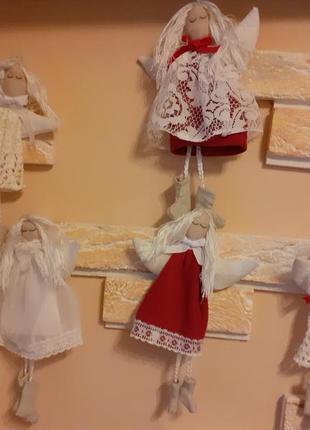 Ангелы,набор ангелов,интерьерные куклы.