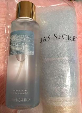 Подарочный набор девушке marine splash, подарок , мист и лосьон от victoria's secret