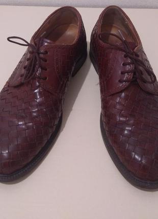 Фирменные мужские туфли gallus liberty echtes leder