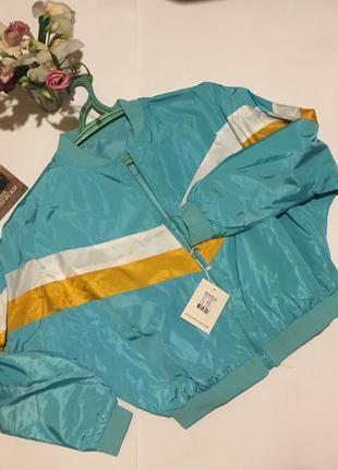 Ветровка куртка плащевка в винтажном стиле💣