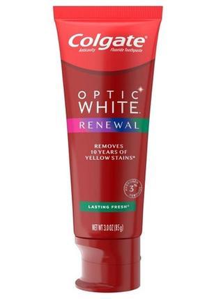 Colgate optic white renewal отбеливание