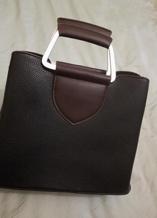 Чёрная сумка сумочка кроссбоди