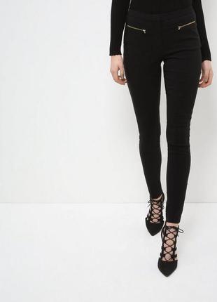 Штаны чёрные штани брюки чорні офісні