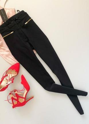 Штаны штани чёрные офисные на каждый день брюки