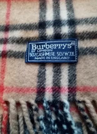 Шарф burberrys burberry (оригинал)