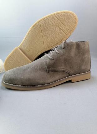 Замшевые мужские ботинки livergy р. 42,43,45