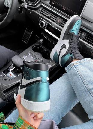 Jordan кроссовки,кросівки весна лето осень кожаные8 фото