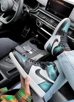 Jordan кроссовки,кросівки весна лето осень кожаные6 фото
