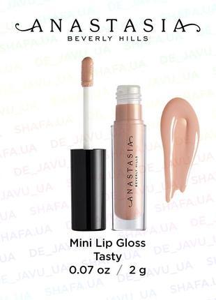Блеск для губ anastasia beverly hills mini lip gloss abh tasty
