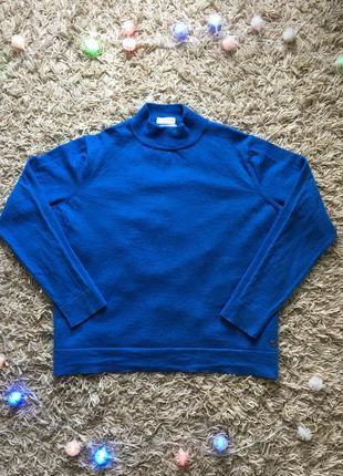 Женская брендовая шерстяная кофта свитер пуловер гольф bogner