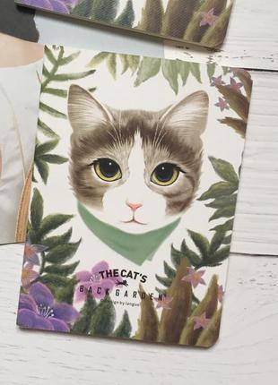Блокнот записная книга кошка