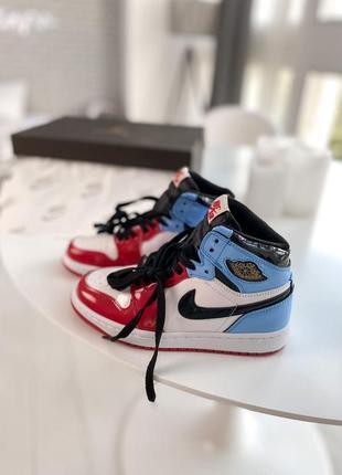 Nike air jordan 1 retro  женские мужские кроссовки найк