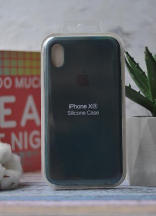 Чехол iphone xr silicone case чохол айфон