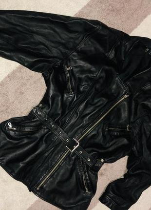 Куртка пилот кожа
