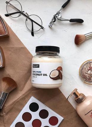 Кокосовое масло рафинированное hillary premium