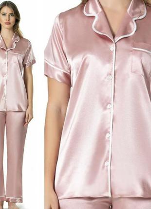 Пижамный комплект атлас-сатин