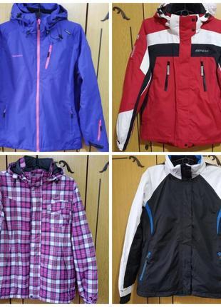 Крутая куртка лыжная, горнолыжная с капюшоном, icepeak