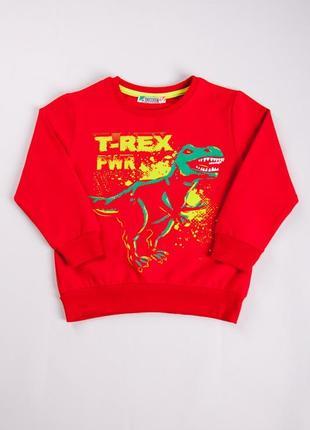 Свитшот джемпер динозавр дино для мальчика