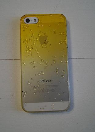 Чехол с капельками для iphone 5, 5s, se