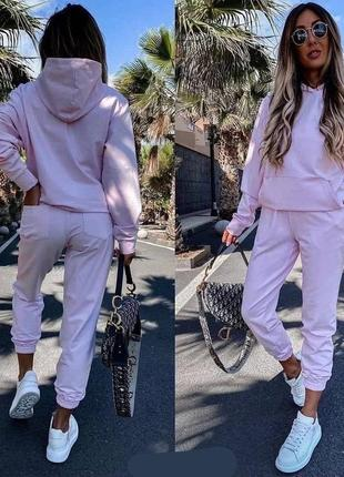 Женский спортивный костюм однотонный❤ 5 цветов