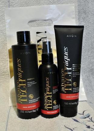 Набор мгновенное восстановление волос: шампунь, сыворотка-спрей д/волос, маска д/волос