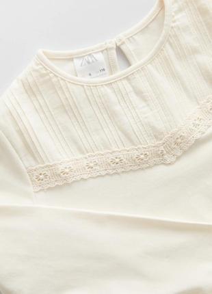 Красивая блуза реглан zara