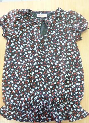 Блузка для девочки red orange