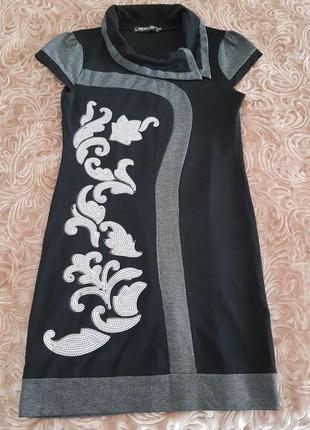 Плаття візерунок пайетки