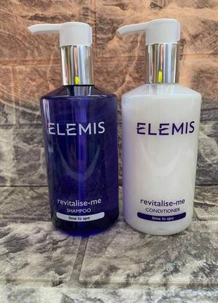 Elemis шампунь и кондиционер  для волос revitalise-me time to spa 300 мл