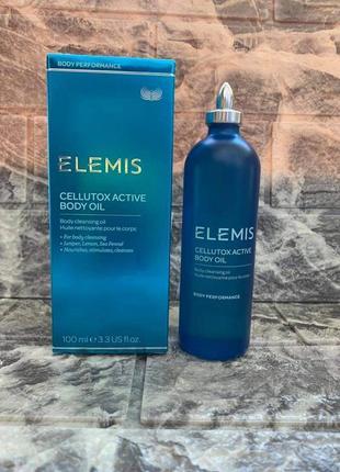 Elemis антицеллюлитное детокс масло для тела, 100 мл