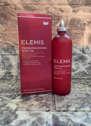 Elemis масло для тела франжипани монои, 100 мл
