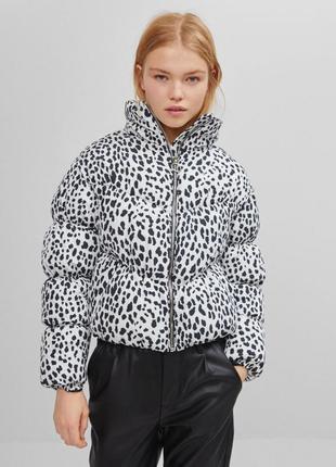 Укороченная стильная куртка bershka - s, m, l