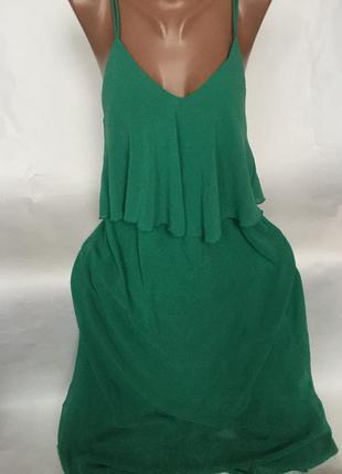 Шикарное длинное платье ,