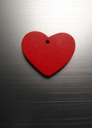 Сердечко деревянное