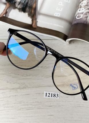 Очки с антибликовым покрытиемженские компьютерные очки