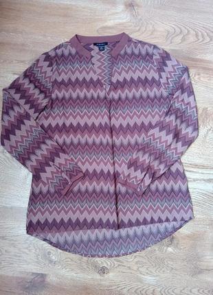 Стильная офисная блуза amisu