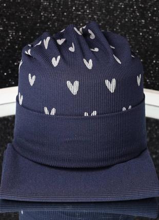 Комплект шапка с хомутом