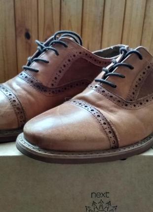 Кожаные классические мужские туфли / броги aldo оригинал сша, размер us9 eur42 28см