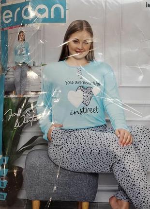 Разпродажа !!! пижама турция хлопок 100%